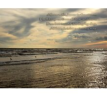 Trust Jesus Through the Storm Photographic Print