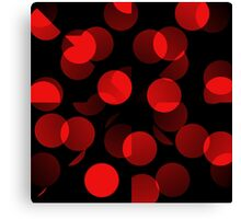 Red Dots 2 Canvas Print