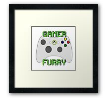360 Gamer Fur Framed Print