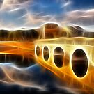 Bridge reflections with fractalius by Francesco Malpensi