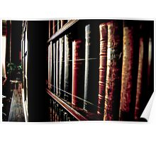 Library in Cragside Hall Poster