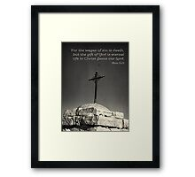 The Wage of Sin Framed Print