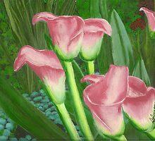 Pond Lilly's by Dbutrflys