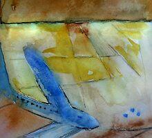 Sacramento Airport Abstract 1 by Elizabeth Bravo