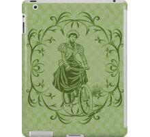The Lady Cyclist iPad Case/Skin