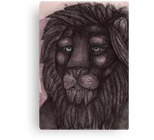 The Lion that Dreams Canvas Print