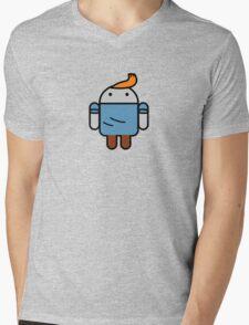 TinDroid Mens V-Neck T-Shirt