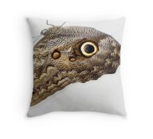 Hanging Owl Butterfly Throw Pillow