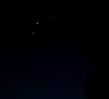 Planetary Conjunction 10 May 2011 by Odille Esmonde-Morgan