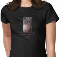 Courage d'une reine Womens Fitted T-Shirt