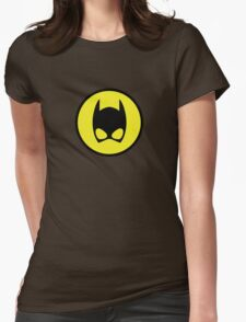 Catwoman Emblem Womens Fitted T-Shirt