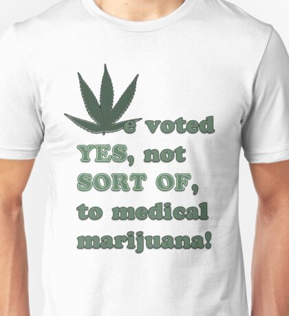 Medical Marijuana Tee Unisex T-Shirt