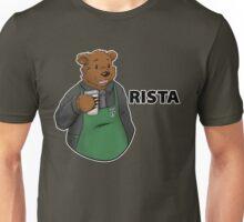 Brewce the Bearista (text) Unisex T-Shirt
