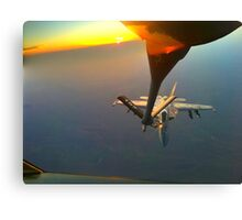 Keeping the airspace safe Canvas Print