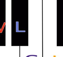 Owl City keyboard Sticker