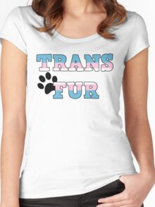 Trans Fur! Women's Fitted Scoop T-Shirt