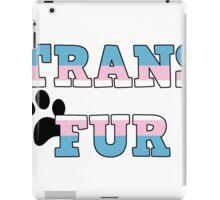 Trans Fur! iPad Case/Skin