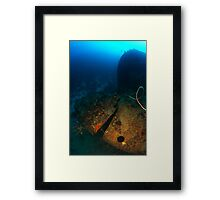Stern of the Windjammer, Bonaire Framed Print