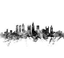 Atlanta Georgia Skyline Photographic Print