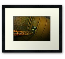 Inside the Hilma Hooker, Bonaire Framed Print