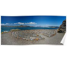 Mile Rock View Poster