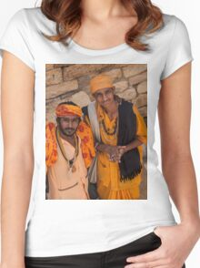 Sadhus of India Women's Fitted Scoop T-Shirt
