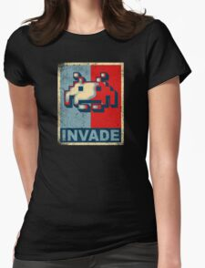 INVADE Womens Fitted T-Shirt