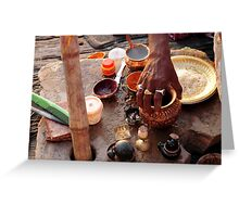 Dawn Ritual - Holy River Ganges Greeting Card