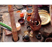 Dawn Ritual - Holy River Ganges Photographic Print