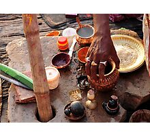 Dawn Ritual - Holy River Ganges Photographic Print