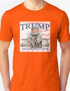 Donald Trump GOP Elephant Tour 2016 T-Shirt