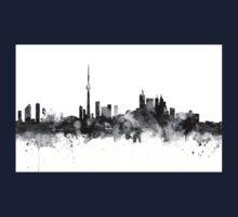 Toronto Canada Skyline Kids Tee