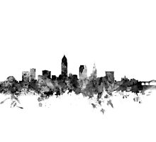 Cleveland Ohio Skyline Photographic Print
