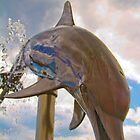Dolphin Fountain by DmitriyM