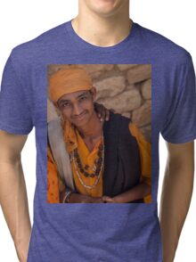 Sadhus of India Tri-blend T-Shirt