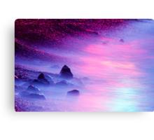 Iridescent Shore Canvas Print