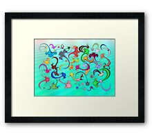 Anti-Viral Sea Framed Print