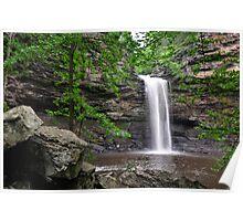 Cedar Falls, Petit Jean Mountain Arkansas Poster