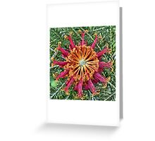 Floral Symmetry Greeting Card