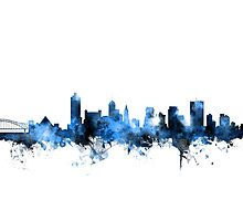 Memphis Tennessee Skyline Photographic Print