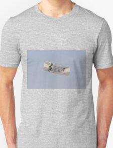 colorful kites music flying in the sky Unisex T-Shirt