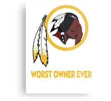Celebrate the Redskins by owning something stating the obvious.  Metal Print