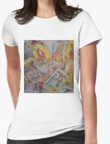Tarot Time Womens Fitted T-Shirt