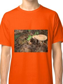 mushroom in the forest Classic T-Shirt