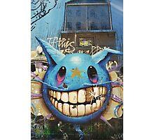 Graffiti Character  Photographic Print