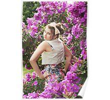 Floral Magic Poster