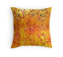 Neon Knights Throw Pillow