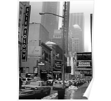 The Lights of Broadway Poster