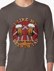 Beer On Tap Long Sleeve T-Shirt
