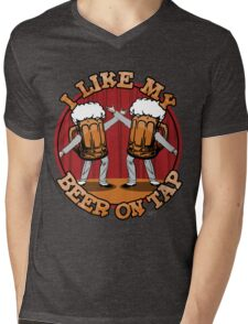 Beer On Tap Mens V-Neck T-Shirt